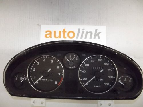 Instrument cluster panel, Eunos Roadster MX-5 mk1 N026, kph, USED